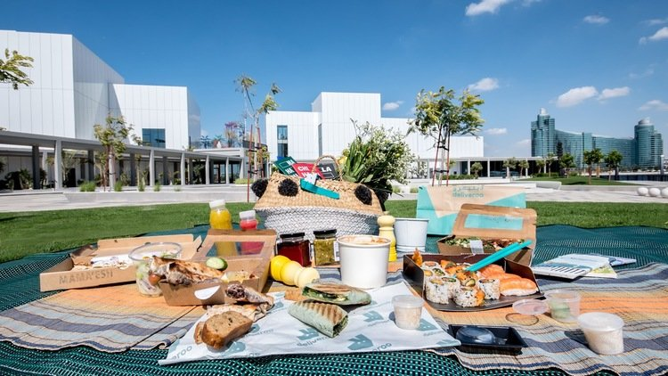 Deliveroo and the Jameel Arts Centre team up to deliver 300 restaurants to art lovers in Dubai