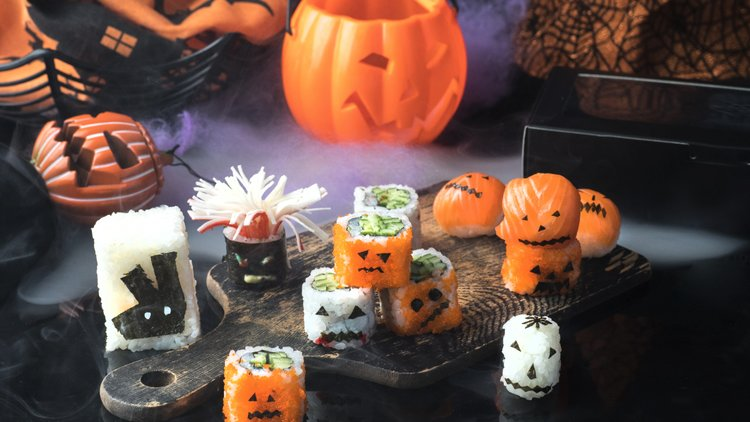 Deliveroo adds a twist to this Halloween with Spooky Sushi!