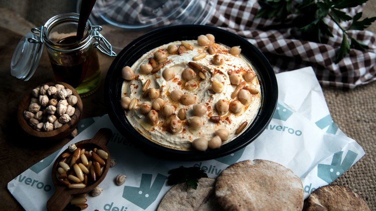 Deliveroo celebrates the chickpea with free Hummus for International Hummus Day