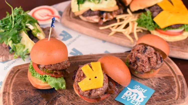 Deliveroo celebrate Father's Day with Free Burgers